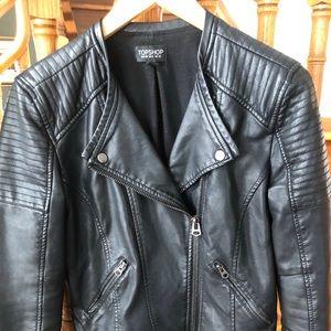 Topshop leather jacket!